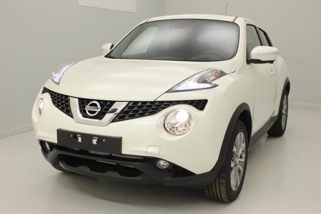 nissan juke 1 5 dci 110 fap start stop system tekna blanc lunaire roue de secours avec. Black Bedroom Furniture Sets. Home Design Ideas