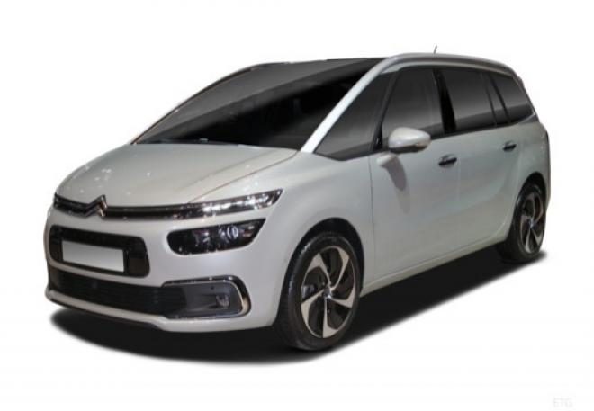 citroen grand c4 picasso nouveau bluehdi 120 s s shine eat6 avec options auto ies. Black Bedroom Furniture Sets. Home Design Ideas