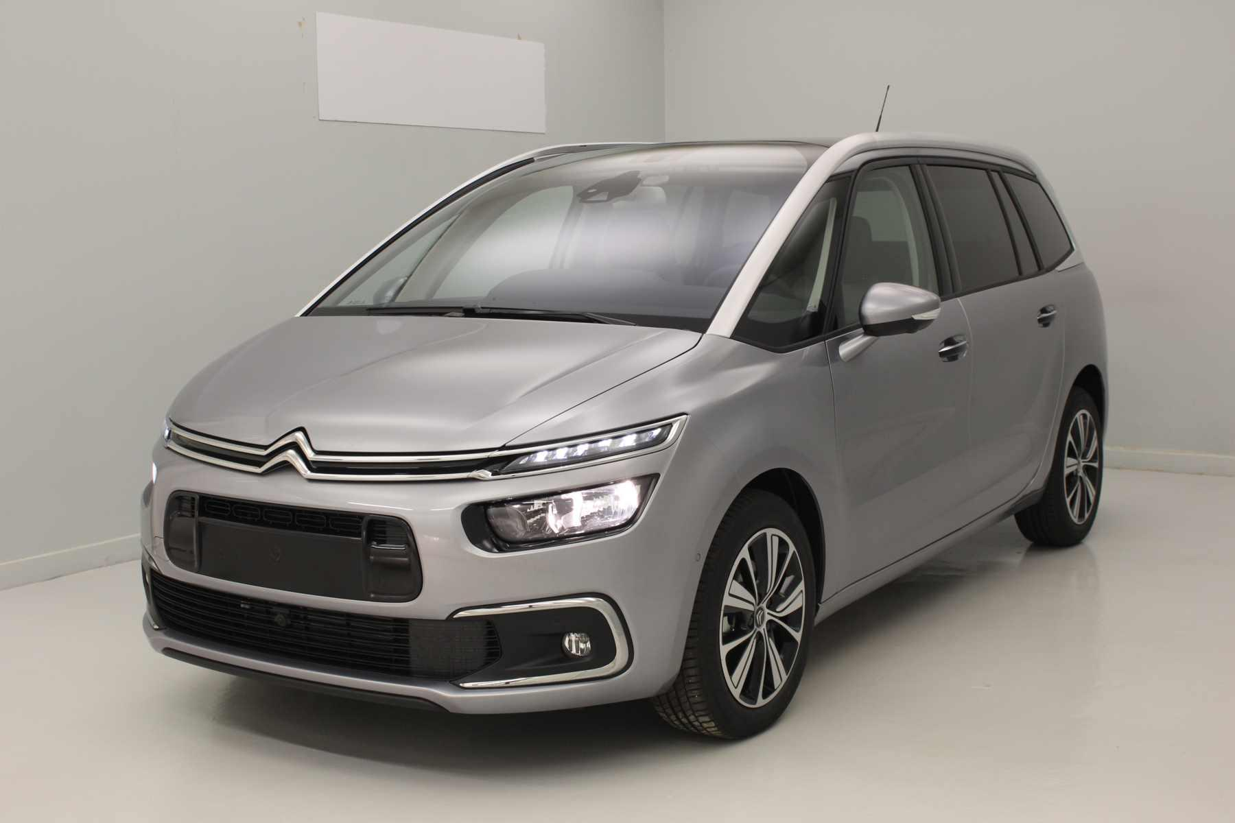 citroen grand c4 picasso bluehdi 150 s s shine gris acier toit panoramique vision 360. Black Bedroom Furniture Sets. Home Design Ideas