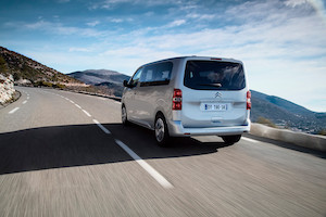Citroen SpaceTourer coffre