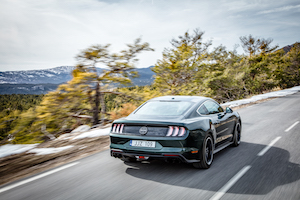 Ford Mustang coffre