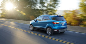 Ford EcoSport arriere