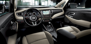 Kia Carens interieur