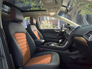ford edge interieur