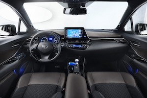 toyota c-hr interieur
