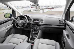 volkswagen sharan interieur